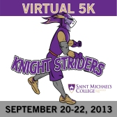 Saint Michael's College Knight Striders Virtual 5K